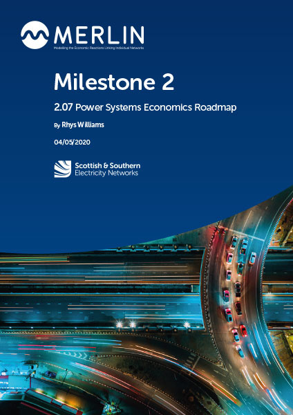2.07 Power Systems Economics Roadmap