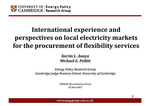 MERLIN Cambridge International Research
